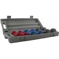 PVC Dumbbellset in koffer
